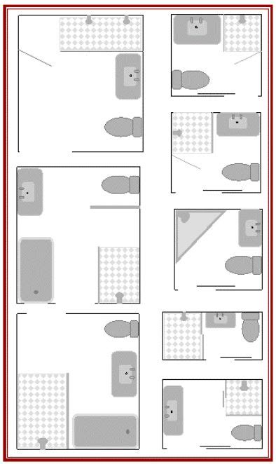 floor plans for small bathrooms best 20 small bathroom layout ideas on tiny