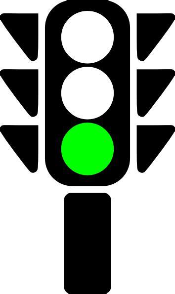Traffic Semaphore Green Light Clip At Clker