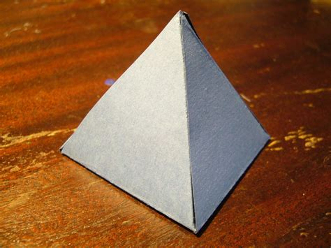 how to make a card pyramid how to make a pyramid out of cardboard 8 steps