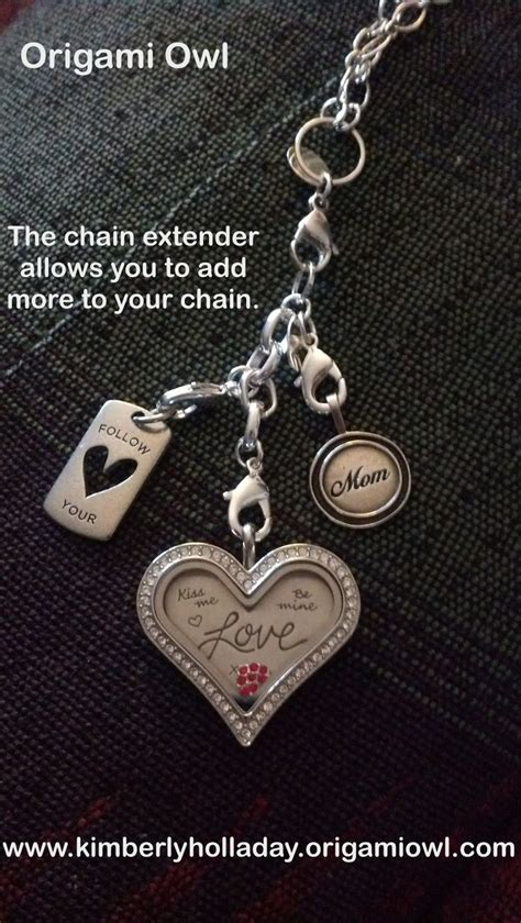 origami owl chain extender 95 best images about origami owl family friends lockets