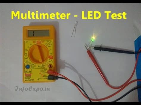 how to test how to use multimeter for testing led bulbs continuity