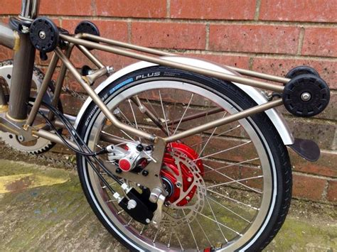 Modifications In Bicycle by 42 Best Brompton Modifications Images On
