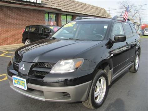 2003 mitsubishi outlander ls 2 4 liter sohc 16 valve 4 cylinder engine photo 57971216 2003 mitsubishi outlander ls 4wd data info and specs gtcarlot com