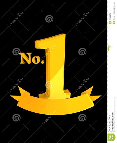 no no 1 no1 top rank stock illustration image of competition