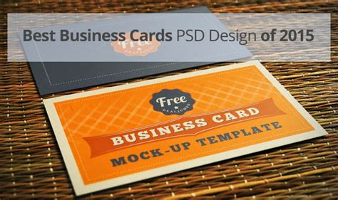 best card blogs 20 best free business cards psd design of 2015