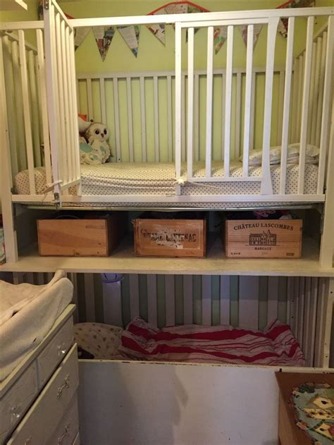 crib for bed 25 best ideas about bunk bed crib on small