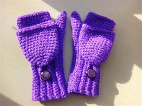 knitting pattern for childrens gloves with fingers crochet convertible fingerless mittens child size