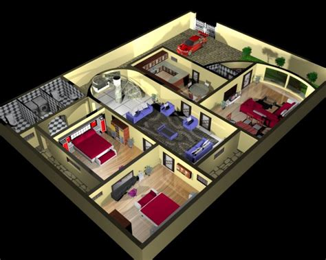 house design 3d free house plan and interior design 3d 3d model max