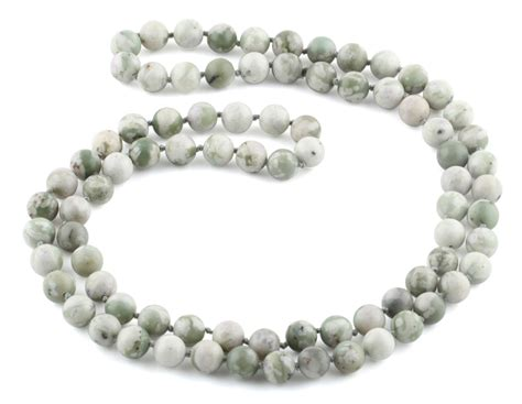 bead necklace 32 quot 8mm peace gemstone bead necklace