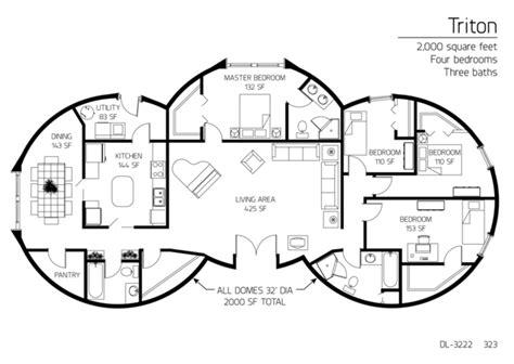 how to design a floor plan floor plans 4 bedrooms monolithic dome institute