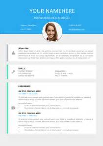 le marais free modern resume template