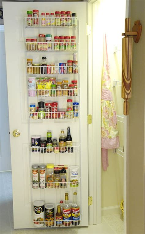 pantry door organizer how i organize my pantry living rich on lessliving rich