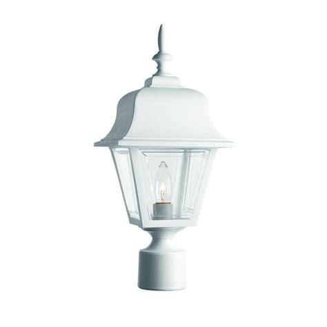 home depot outdoor lights hton bay 3 white outdoor post light hb7017p 06