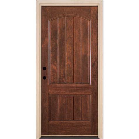 front doors home depot feather river doors 37 5 in x 81 625 in 2 panel plank