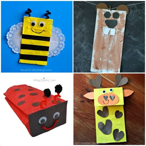 paper bags crafts 20 paper bag animal crafts for i crafty things
