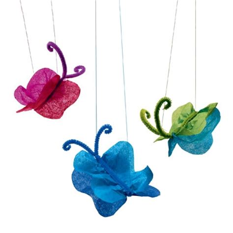 tissue paper butterfly craft arts crafts collection 187 craft tissue paper butterflies