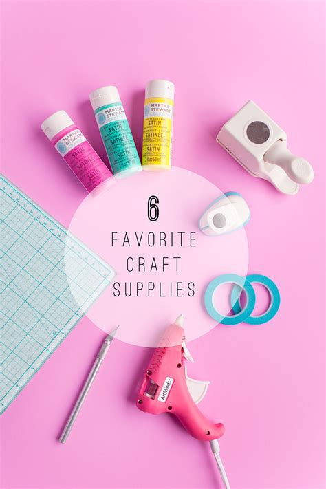 best crafts my six favorite craft supplies tell and