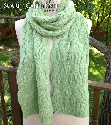 cable knit scarves the alpaca scarf cable knit