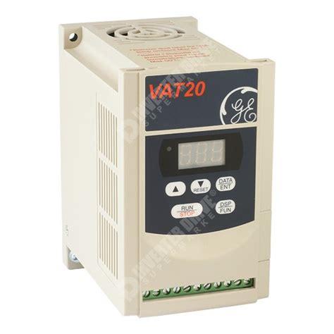 Motor Electric 4kw 220v by Ge Vat20 0 4kw 230v 1ph To 3ph Ac Inverter Drive C3 Emc