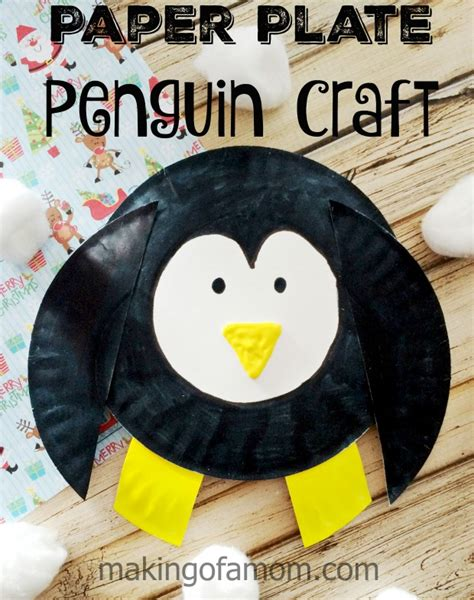 penguin paper plate craft penguin paper plate craft of a