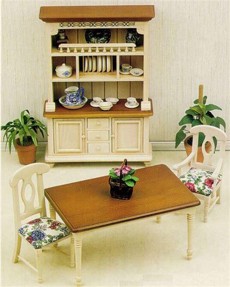 dollhouse dining room furniture dollhouse broy hill dining room furniture from fingertip