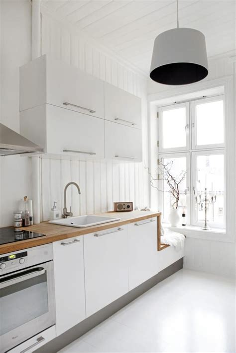 kitchen scandinavian design stylish white scandinavian kitchen design