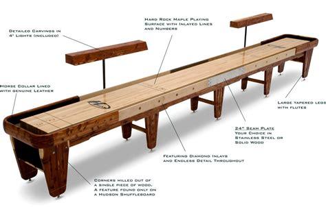 indoor plan indoor shuffleboard table plans image mag