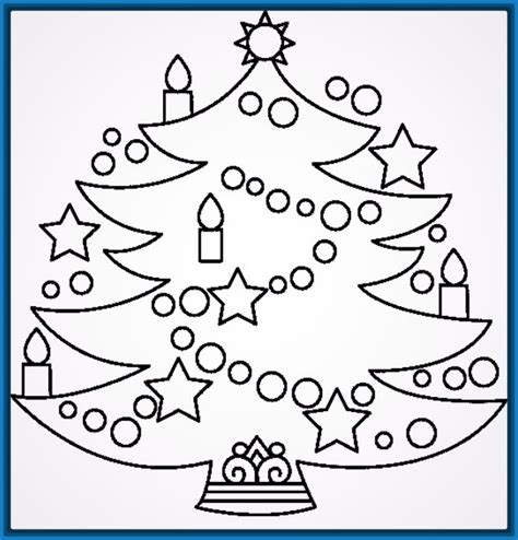 dibujos arboles navidad dibujos para imprimir arboles de navidad archivos
