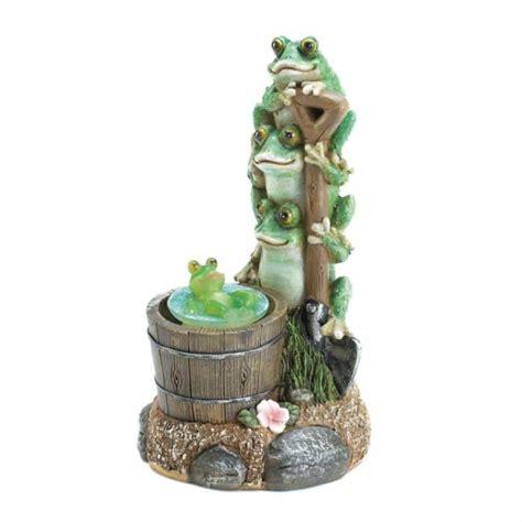 Garden Ornaments And Accessories Galleries Solar Rotating Frog Garden Decor Upc 849179031022