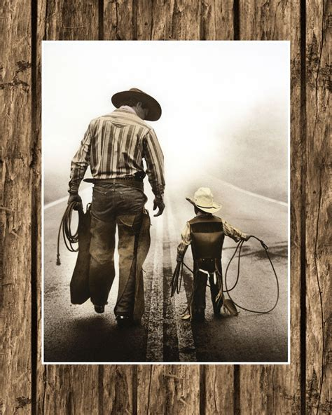 Western Decor Canada by Western Cowboy Art Wall Decor Photo Picture W Matte 11 Quot X14