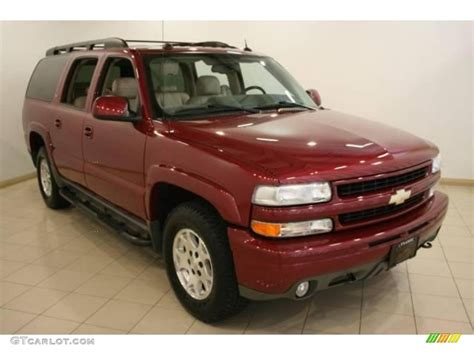 2005 Sport Red Metallic Chevrolet Suburban 1500 Z71 4x4 ... 04 Chevy Suburban Paint Colors
