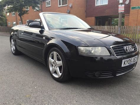 electric and cars manual 2005 audi a4 head up display 2005 05 audi a4 sport 1 8t convertible black smethwick wolverhton