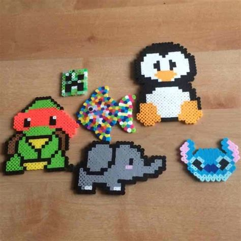 fuse bead creations 33 other perler bead creations from hailey s