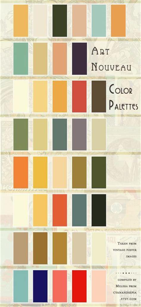 deco color palette 25 best ideas about vintage color schemes on