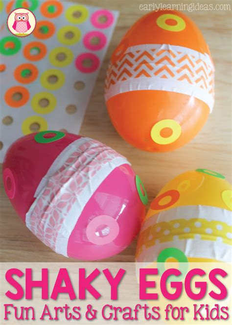 arts and crafts ideas for arts and crafts for how to make a shaky egg