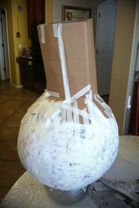 paper mache crafts for and with glamma fabulous my paper mache pumpkin