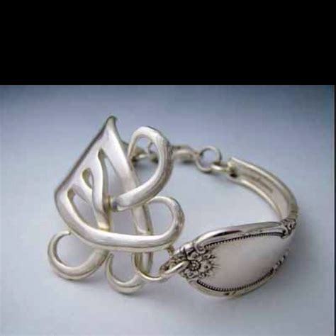 how to bend silverware to make jewelry 17 best ideas about fork bracelet on