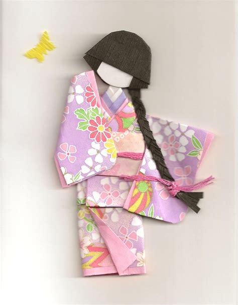 origami paper doll 1000 images about japanese paper dolls on