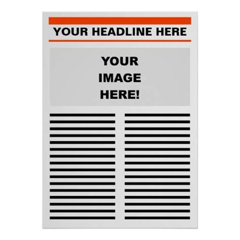 create my own best photos of create my own newspaper template
