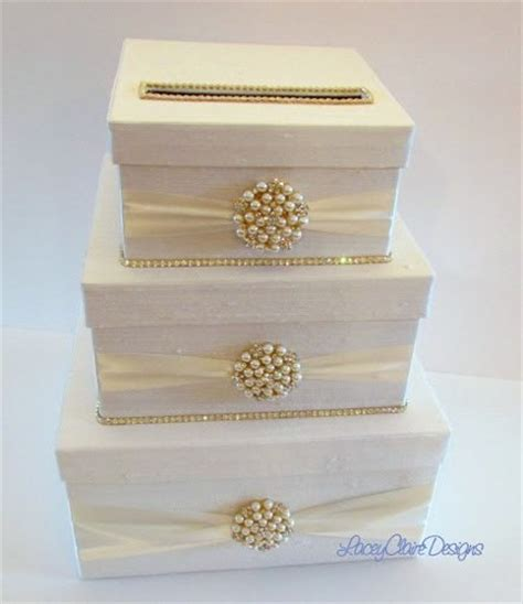 how to make gift card boxes for weddings rhinestone wedding card holder handmade card box custom
