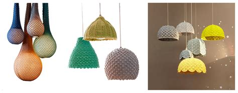knitted light shade knitted lshades and a festival of light the mercerie