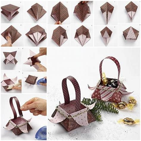 origami gift basket creative ideas diy origami gift box