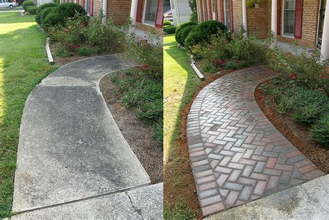 concrete patio vs pavers landscape ideas pavers vs concrete minneapolis paver