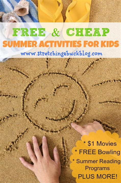 cheap summer crafts for free and cheap summer activities for a