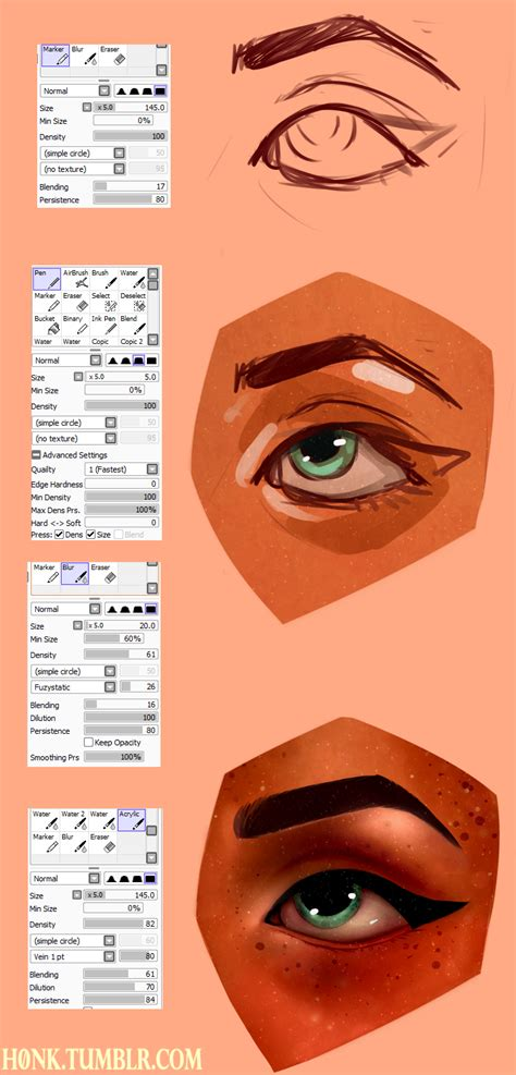 paint tool sai one2up paint tool sai brush settings by h0nk png on deviantart