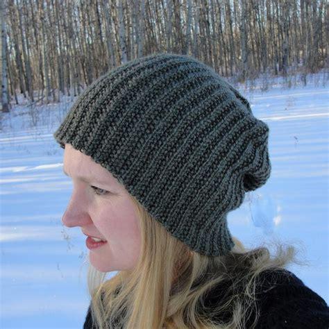 beanie knit hat pattern brock beanie by scrapnqueen craftsy