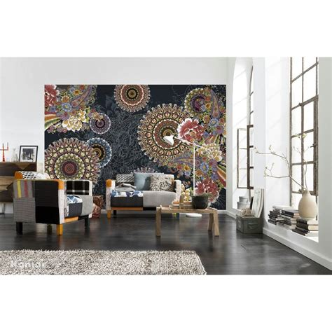 home depot wall murals komar 100 in x 145 in corro wall mural 8 939 the home