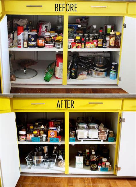 Kitchen Organization Ideas Budget get organized kitchen cabinets a beautiful mess