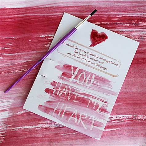 how to make a secret message card printable s day cards for handmade