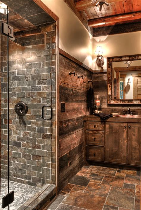 Rustic Themed Bathroom by 31 Best Rustic Bathroom Design And Decor Ideas For 2018
